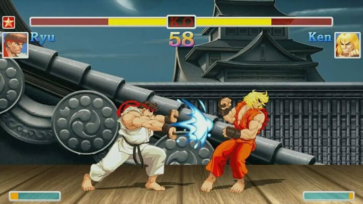 Game Street of fighter